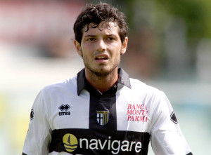 5 sept 2009: Dzemaili of Parma in action during the friendly match played between Sassuolo and Parma at Ricci stadium in Sassuolo © Alessandro Iotti/Grazia Neri