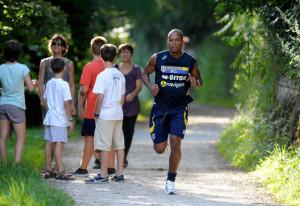Fabiano+Santacroce+FC+Parma+v+Pre+Season+Training+8bEZHEy_Giel