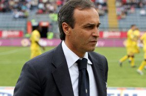 CAGLIARI, ITALY - MAY 02:  Pasquale Marino coach of Udinese during the Serie A match between Cagliari and Udinese at Stadio Sant'Elia on May 2, 2010 in Cagliari, Italy.  (Photo by Enrico Locci/Getty Images) *** Local Caption *** Pasquale Marino